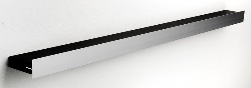 Hoigaard Design Gallerihylde - Sort - SR-98 med aluminiumskant - bred