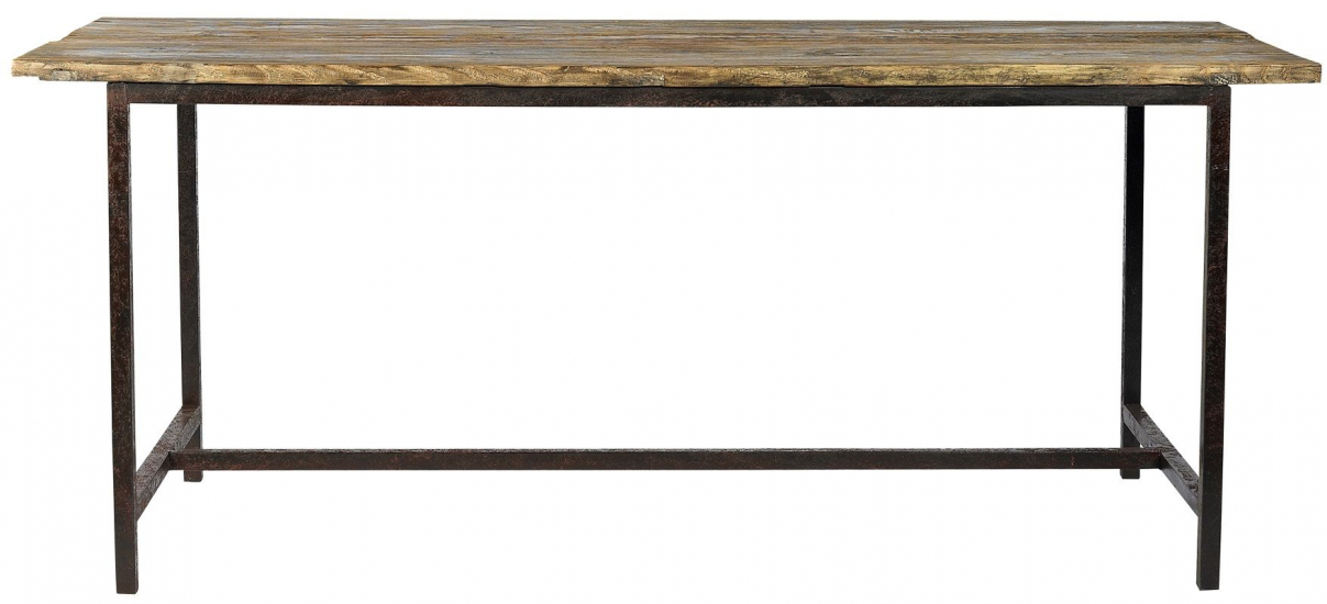 Nordal - Raw Bord - vintage træ - 180x70 - Spisebord i fyrretræ
