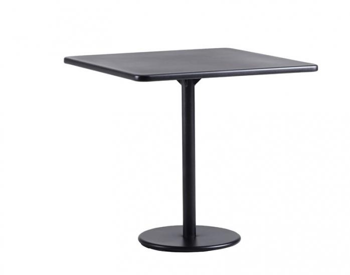 Caneline - GO - 64x64 Cafebord - Grå - Cane-line cafébord