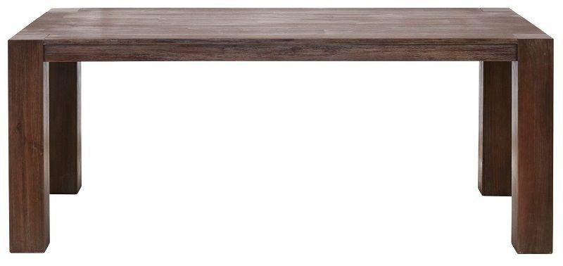 Mabel Spisebord 220x100 - mørk Acacietræ    - Spisebord i mørk acacietræ