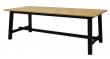 Olli Spisebord - Sort - Spisebord med sort stel