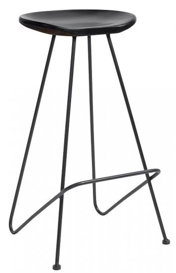 Nordal - Barstol - Sort - Stilren Barstol