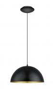 Gaetano 1 - Ø38 Pendel - Sort - Rund sort pendel - Ø38 cm