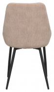 Sierra Spisebordsstol - Beige Fløjl