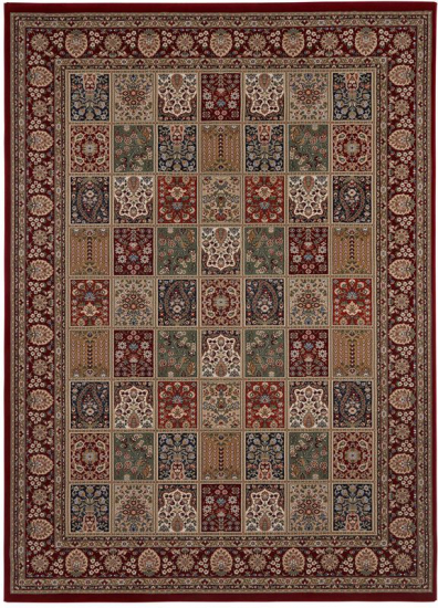 Teheran  Oriental Wiltontæppe - Multi - 170x230 - 170x230 cm