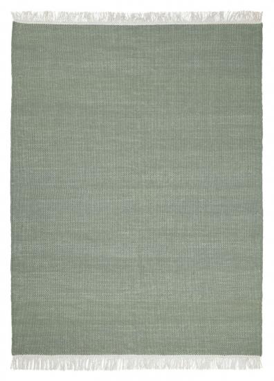 Linie Design Birla Uld tæppe, Grøn, 170/240