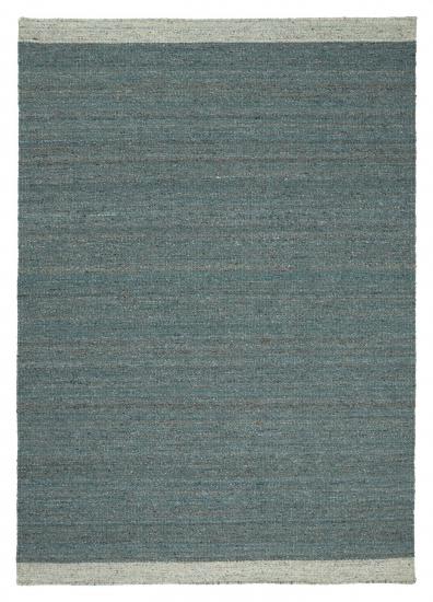 Linie Design Ledro Uld tæppe, turquoise, 170/240