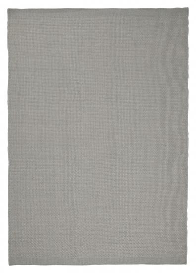 Linie Design Oksa Uldtæppe, silver, 140/200