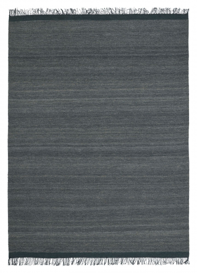 Linie Design Sigyn Uld/Viscose tæppe, anthracit, 170/240