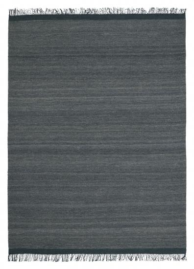 Linie Design Sigyn Uld/Viscose tæppe, anthracit, 80/150