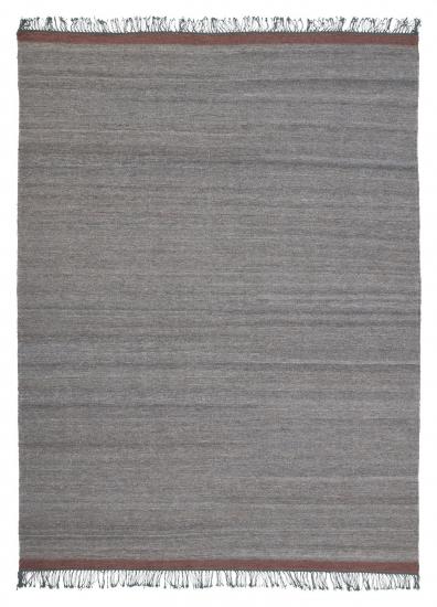 Linie Design Sigyn Uld/Viscose tæppe, Grå, 200/300