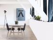 Andersen T1 Spisebord m. udtræk i sæbebehandlet eg, 180cm