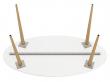 Delta Spisebord - Hvid - 180 cm