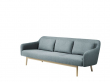 FDB Møbler - Gesja 3-pers. Sofa - Petroleumblå