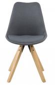 Fryd Spisebordsstol - Mørk Grå stof