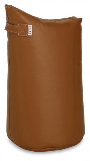 Læder Satellite 68 skammel - Cognac
