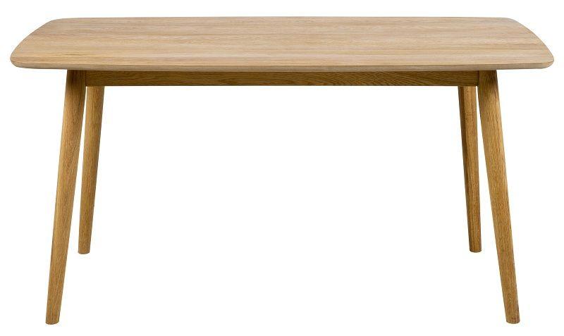 Julius Spisebord - Olieret ege finér - 150x80 - Oliebehandlet spisebord