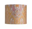 Ebb&Flow - Lampeskærm, brocade, gul/pink, Ø35, bordlampe
