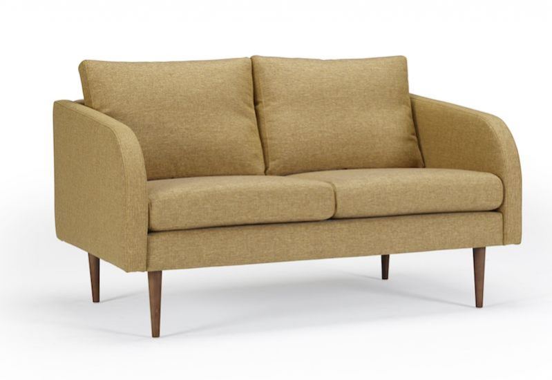 Kragelund Hugo 2-pers. sofa Gul