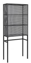 Nordal - Wire Reol 175x75 cm - Sort