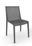 Muubs Cool Stabelstol - Grå - Grå stabelstol i plastik