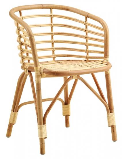 Cane-line - Blend Spisebordsstol - Natur - Cane-line Stol i naturfarvet rattan