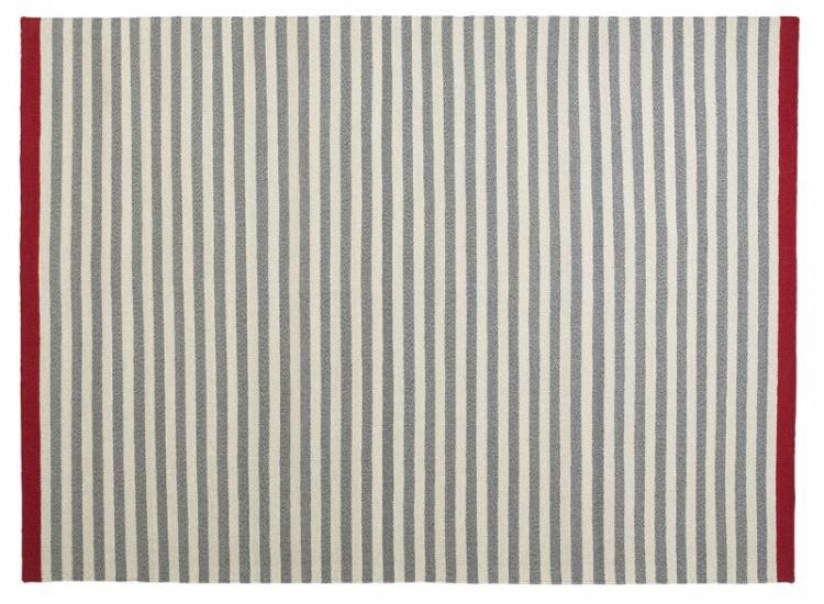 Fabula Rosemary tæppe - Grå/Lysegrå - Håndvævet Kelim 170x240 cm