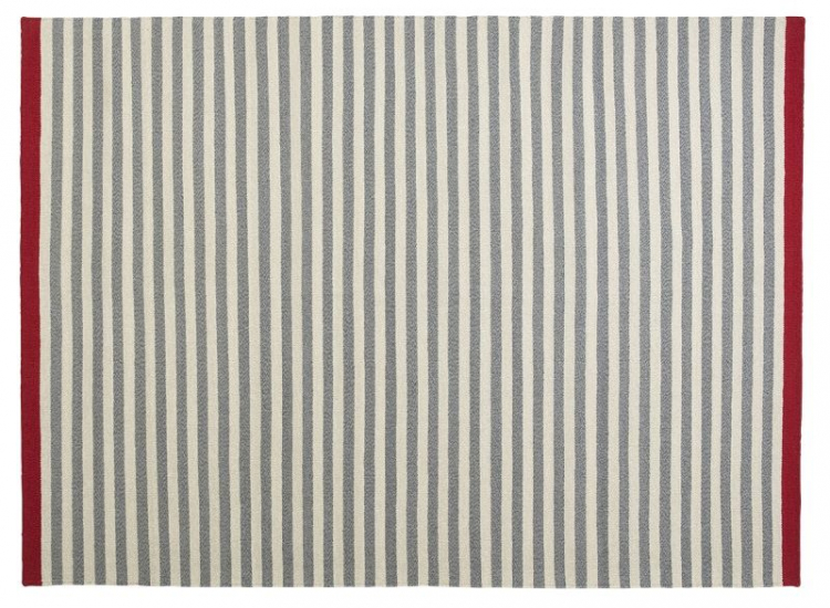 Fabula Living - Rosemary Grå Kelim - 200x300 - Håndvævet Kelim 200x300 cm
