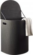 Laundry Vasketøjskurv, Sort genbrugspapit