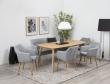 Amada Spisebordsstol - Lys Grå