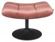 Dutchbone Bar Fodskammel - Old Pink Velour