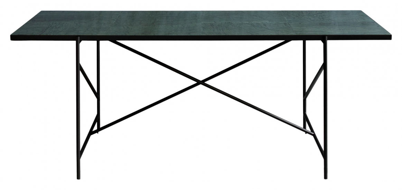 HANDVÄRK Spisebord 230x96 - Grøn Marmor