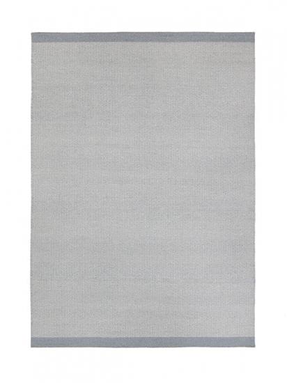 Fabula Balder Kelimtæppe - Grå og lys grå - Håndvævet Kelim 170x240 cm