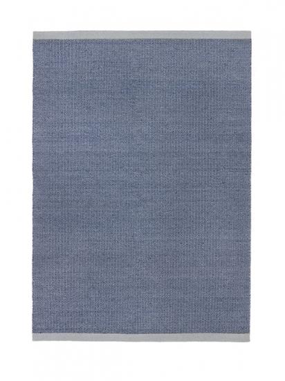 Fabula Living - Balder Grå/blå Kelim - 140x200 - Håndvævet Kelim 140x200 cm