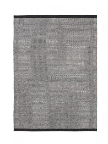 Fabula Living - Balder Sort Kelim - 200x300 - Håndvævet Kelim 200x300 cm