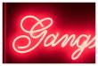 Gangsters don´t Cry Neonskilt