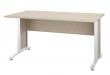 Prima Skrivebord - Lys træ 150cm m/metalben