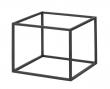 by Lassen - Base til Frame 35 - Sort metal - Ramme til Frame modul