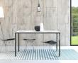 Family Spisebord 140x90 - Hvid laminat