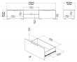 Match Tvbord - Hvid højglans B:172