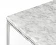 Temahome Gleam Sidebord - Hvid marmor, krom stel