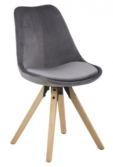 Fryd Spisebordsstol m/centerben - Mørkegrå