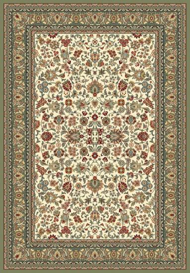 Maya Oriental Wiltontæppe - Grøn - 170x230 - 170x230 cm