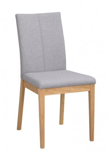 Amanda Spisebordsstol lys grå - eg