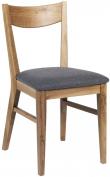 Dylan Spisebordsstol - eg, Gråt sæde