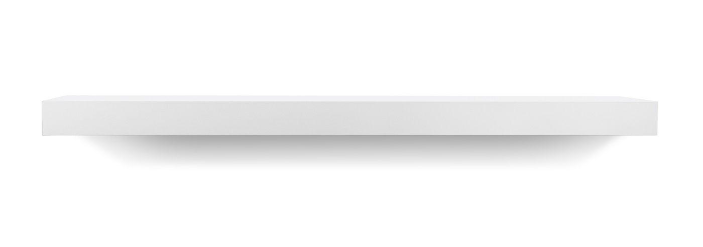 Temahome Balda Svævehylde, mat hvid, 90x22