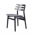FDB Møbler - J48 Spisebordsstol - Sort/antracit