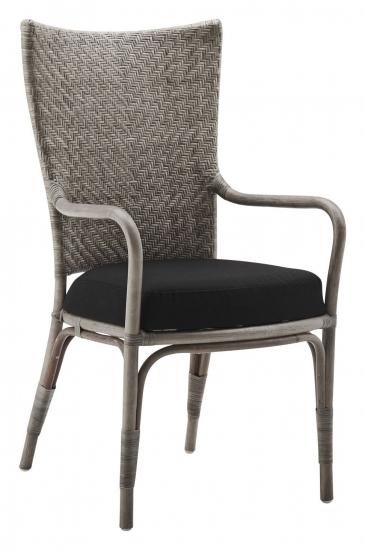 Sika-Design Melody Spisebordsstol m/armlæn - Taupe
