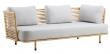 Cane-line - Sense 3-pers. sofa - Grå