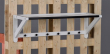 Metro Hattehylde - Hvid matlakeret eg